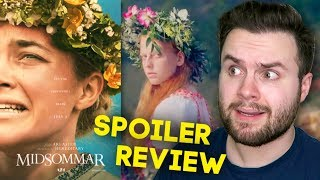 Midsommar SPOILER Review... I'm SHOOK