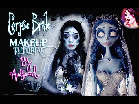 Corpse Bride {Halloween Makeup Tutorial} ♥
