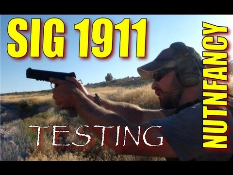 Sig 1911 testing:  Trench Warfare Drill by Nutnfancy