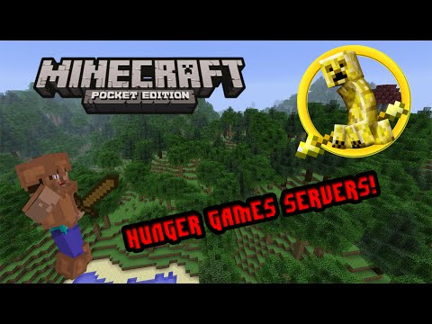 Minecraft PE: HUNGER GAMES SERVERS (0.10.5)