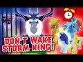 Don't Wake Daddy Storm King My Little Pony Game w/ Twilight Sparkle, Rainbow Dash & Fluttershy!
