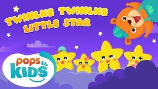 Twinkle Twinkle Little Star - Nhạc Thiếu Nhi Vui Nhộn   Mầm Chồi Lá Tiếng Anh   English Kids Song