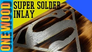 Woodworking tips: Make beautiful solder inlay for your DIY woodworking projects