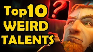Top 10 Weirdest Talents from Vanilla WoW Talent Trees