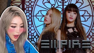 WENGIE Reacts To Her First K-POP Single | EMPIRE ft. MINNIE of (G)I-DLE