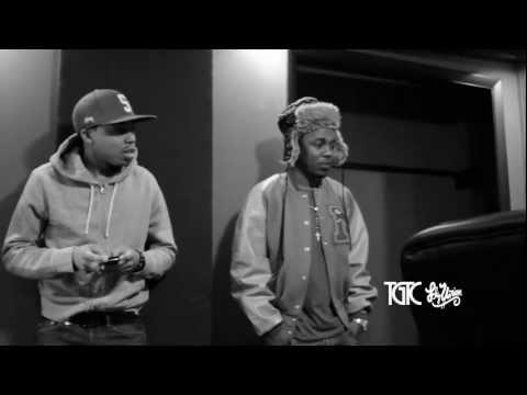 Fly Union x Kendrick Lamar x ScHoolboy Q Studio Session