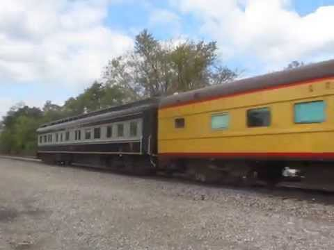 Two Private Cars on Eastbound California Zephyr