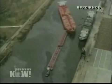 DN! 450,000 Gallons of Oil Spill in Texas Waterway