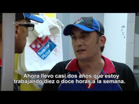 El Jefe Infiltrado — Domino´s Pizza: «He tenido que ir a buscar comida a Cáritas»