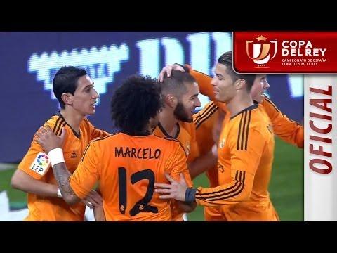 Resumen de RCD Espanyol (0-1) Real Madrid  - HD Copa del Rey