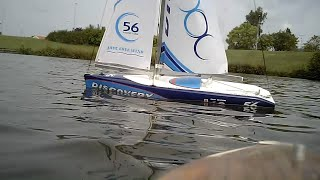 Joysway Discovery - scale model RC sail boat