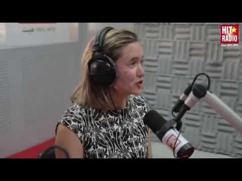 Sandra McCardell, Ambassadeur du Canada au Maroc, dans Le Morning de Momo sur HIT RADIO - 24/10/14