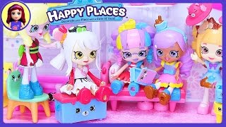 Happy Places Shoppies Shopkins Exclusive Petkins Housewarming Party Silly Play - Kids Toys