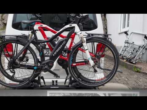uebler p32 ahk fahrradtr ger test 2018. Black Bedroom Furniture Sets. Home Design Ideas