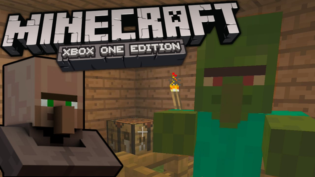 how to cure a zombie villager   minecraft  xbox one