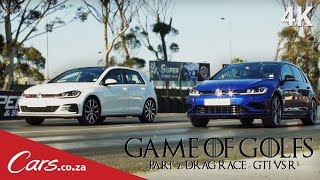 Drag Race: New VW Golf R vs Golf GTI