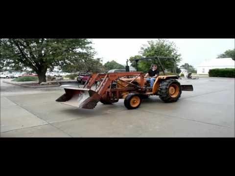 Case 380 tractor for sale | no-reserve Internet auction October 21, 2015
