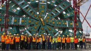 Seattle's Big Bertha tunnel drill blocked by mystery object