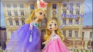Chibi tím trở về thời kỳ cổ tích gặp hoàng tử - A195V - Nữ hoàng búp bê baby doll