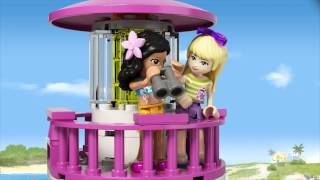Lego Friends | 41094 | Heartlake Lighthouse | Lego 3D Review