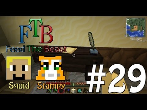 Feed The Beast #29 - Magic Room!! - W/Stampylongnose