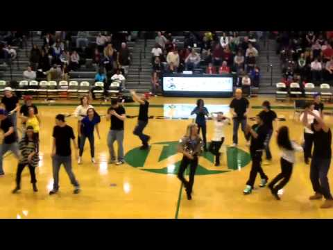 Bishop McNamara Poms & Senior Guys 2-8-11