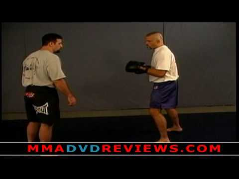 Chuck Liddell - MMA Takedown with Punches Drill Image 1
