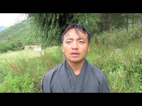 Bhutanese comedian imitates!!!