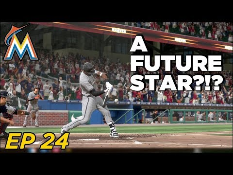 MLB The Show 18 Franchise - Miami Marlins | 2 HUGE DEBUTS! EP 24