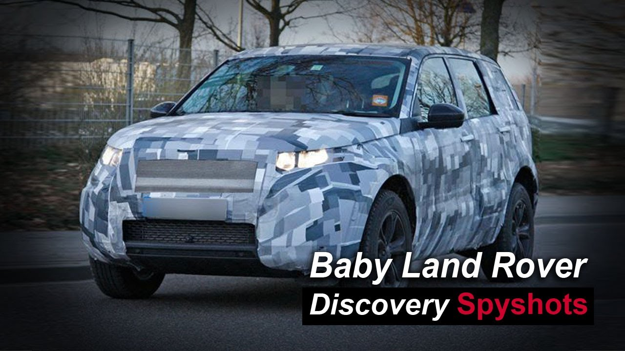 2015 baby land rover discovery freelander replacement spyshots youtube. Black Bedroom Furniture Sets. Home Design Ideas