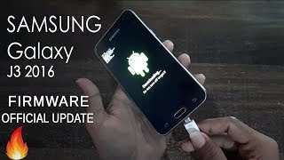 Samsung Galaxy J3 2016 J320F official Update installation