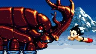 Astro Boy: Omega Factor (GBA) All Bosses + Ending