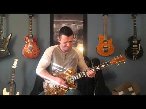 First Guitar build demo (les paul shape) Precision Guitar Kits