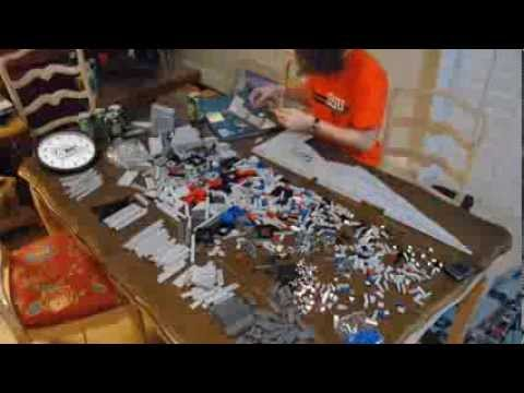 LEGO Star Destroyer Time Lapse
