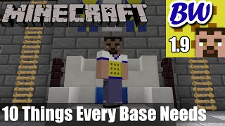 Minecraft: 10 Things Every Base Needs