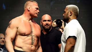 UFC 200 Weigh-In: Brock Lesnar and Mark Hunt come Face to Face