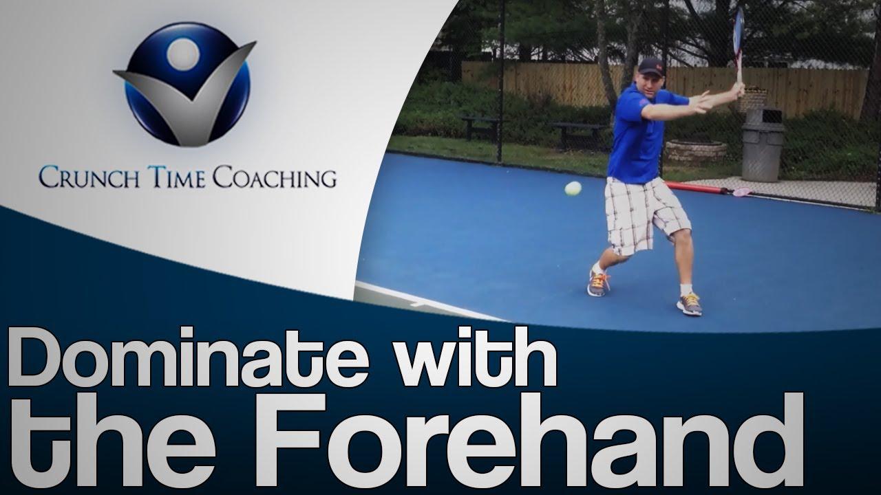 Forehand Groundstroke Lesson Forehand Tennis Lesson