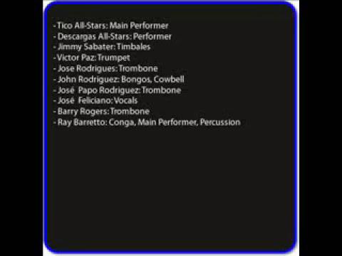 cargas y descargas - Tico All-Stars