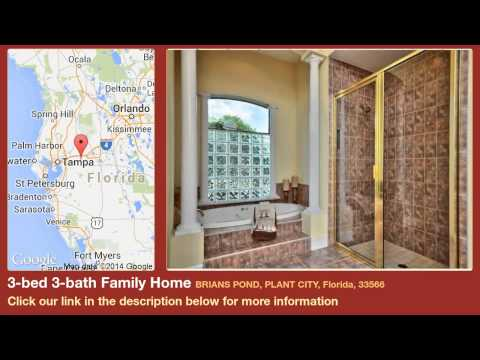 3-bed 3-bath Family Home for Sale in Plant City, Florida on florida-magic.com