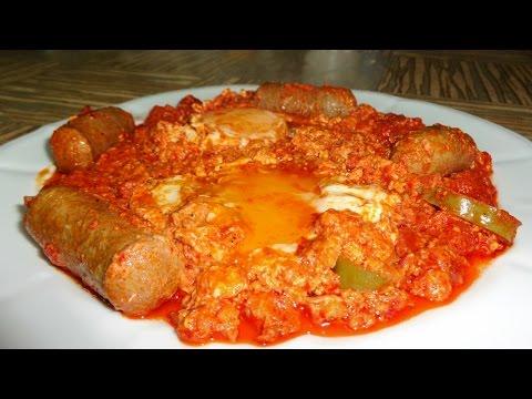 Cuisine tunisienne ojja aux merguez for Cuisine tunisienne