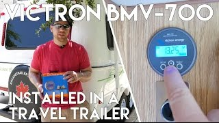Victron BMV-700 - Battery Monitor Installation (2015 Escape 19 Trailer)