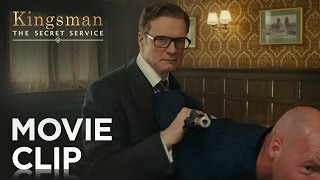 "Kingsman: The Secret Service | ""Bar Fight"" Clip [HD] 