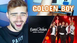 ISRAEL EUROVISION 2015 - GOLDEN BOY |REACTION|