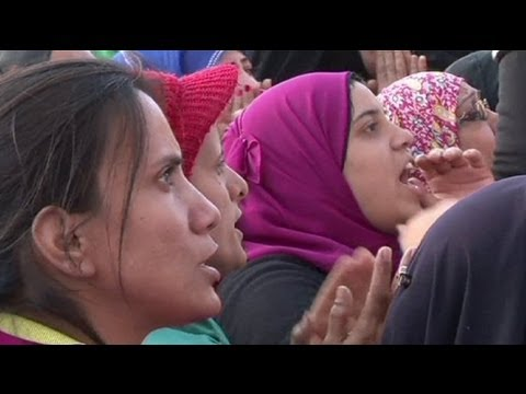 Egípcias organizam-se contra agressões sexuais