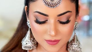 Navratri Look 2019 | Glowy, Sweatproof & Long Lasting Makeup Tutorial (Tips & Tricks)