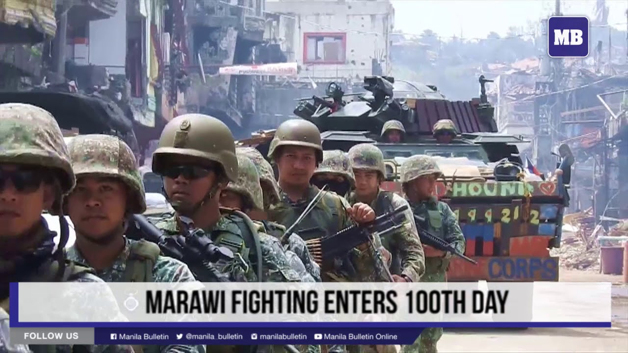 Marawi fighting enters 100th day