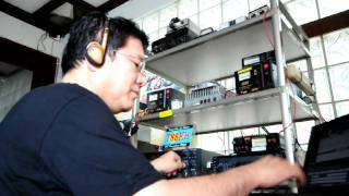 [HD] T88KH on the air in RTTY from Downtown Koror Rep.of Palau Sep/2010