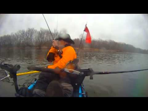 Steelhead Fishing in a Kayak