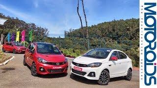 Tata Tiago JTP & Tigor JTP Review | Power To The Masses | Motoroids