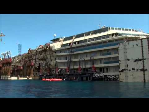 Costa Concordia refloat 2